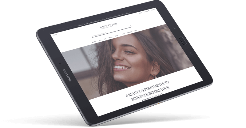 Gritty Pretty Neto eCommerce Website