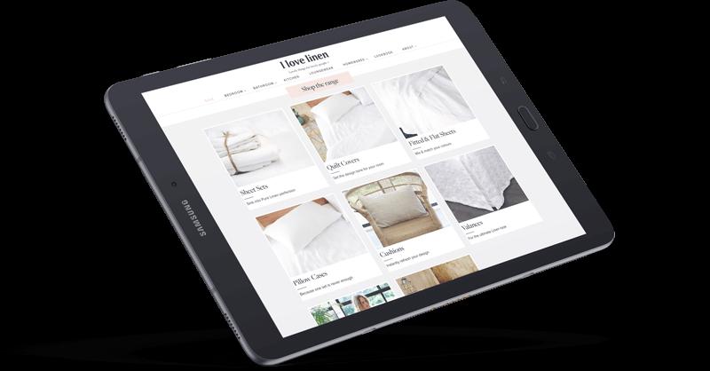 I Love Linen Neto eCommerce Website