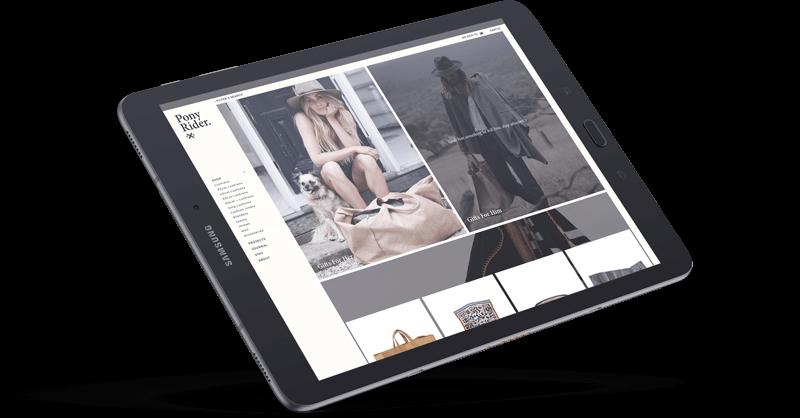 Pony Rider Neto eCommerce Website